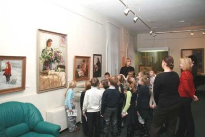 Ознакомление дошкольников с картинами художников: воспитываем в детях чувство прекрасного