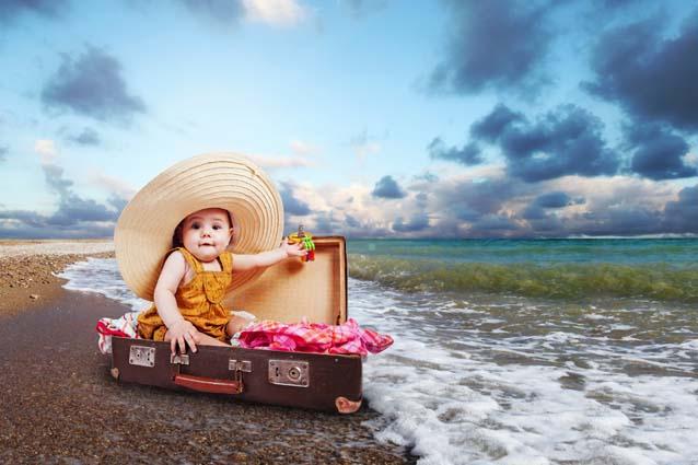 Брать ли ребёнка с собой на отдых
