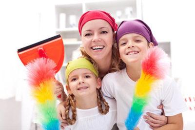 Как приучить ребёнка к исполнению домашних дел?
