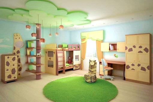 Эко-ремонт в комнате ребенка