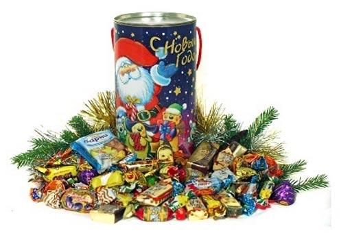 Какие конфеты собрать в новогодний подарок