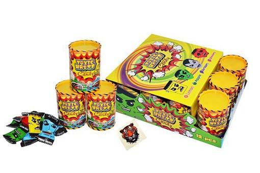 Самые кислые конфеты