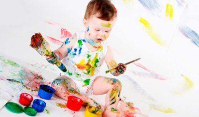 Пятна на детской одежде