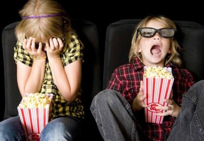 Первый раз с детьми в кино