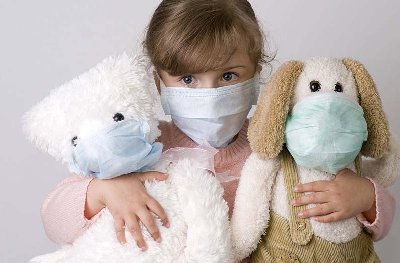 Как приучить ребёнка носить защитную маску